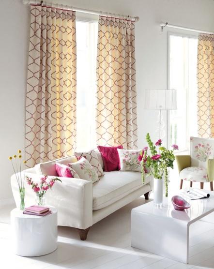 Элегантные шторы для гостиной